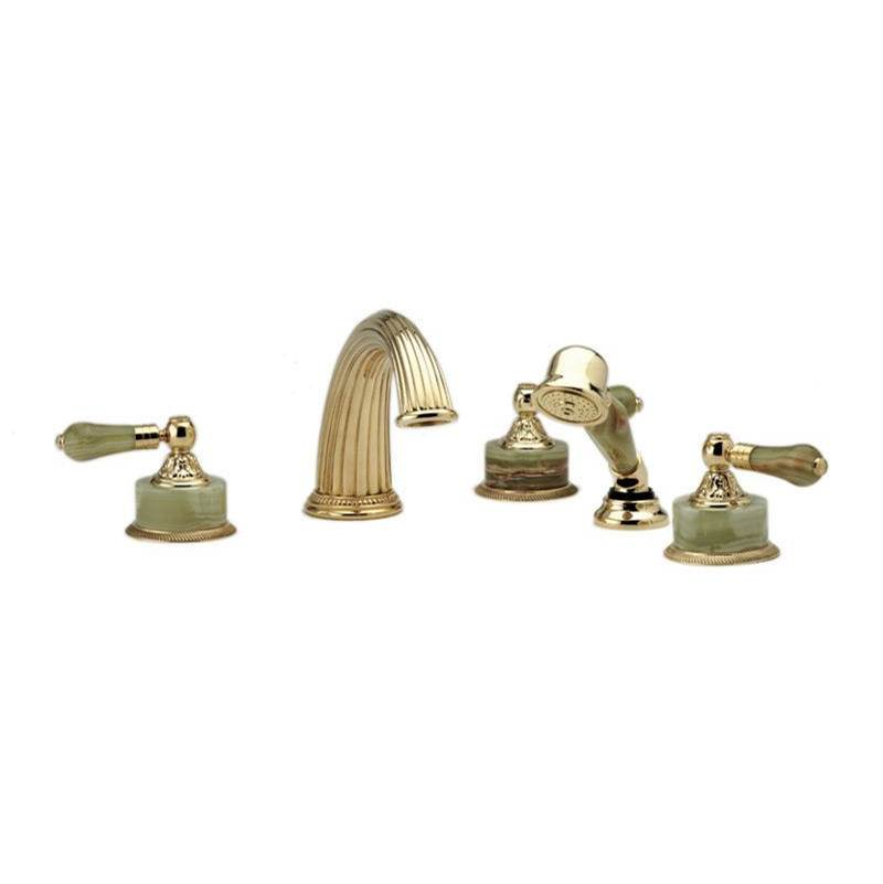 Phylrich Deck Mount Roman Tub Faucets With Hand Showers item K2240P1-024B