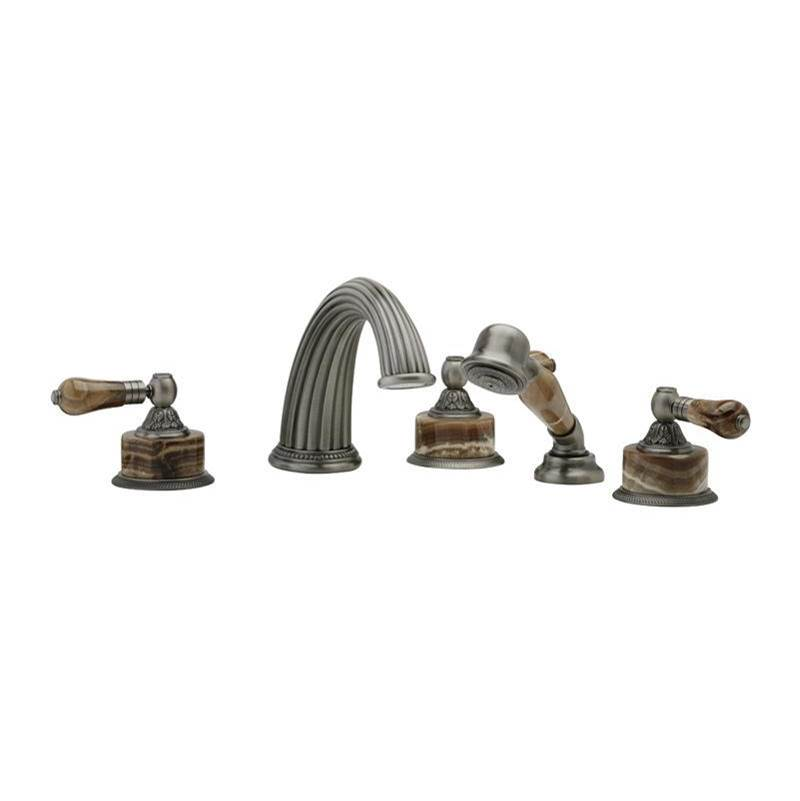 Phylrich Deck Mount Roman Tub Faucets With Hand Showers item K2241P1-024B
