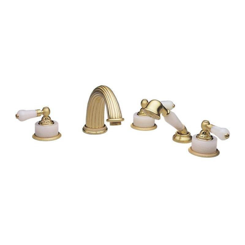 Phylrich Deck Mount Roman Tub Faucets With Hand Showers item K2243P1-024B
