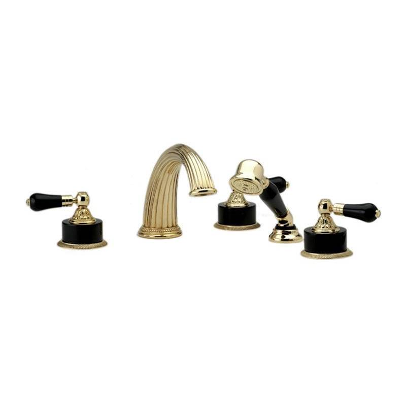 Phylrich Deck Mount Roman Tub Faucets With Hand Showers item K2244P1-024B