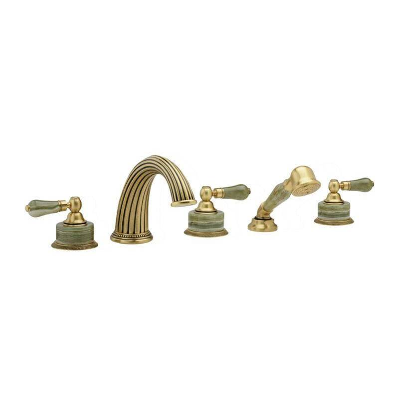 Phylrich Deck Mount Roman Tub Faucets With Hand Showers item K2270P1-024B
