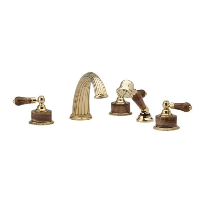 Phylrich Deck Mount Roman Tub Faucets With Hand Showers item K2271P1-024B