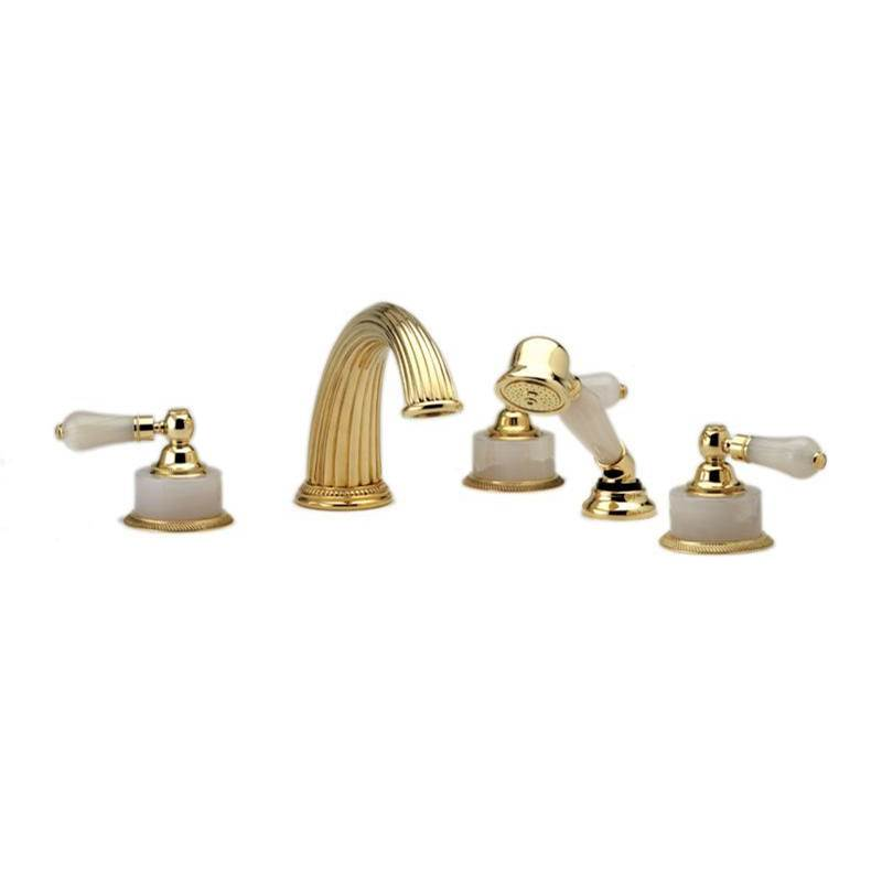 Phylrich Deck Mount Roman Tub Faucets With Hand Showers item K2273P1-024B