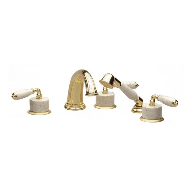 Phylrich Deck Mount Roman Tub Faucets With Hand Showers item K2338DP1-024B