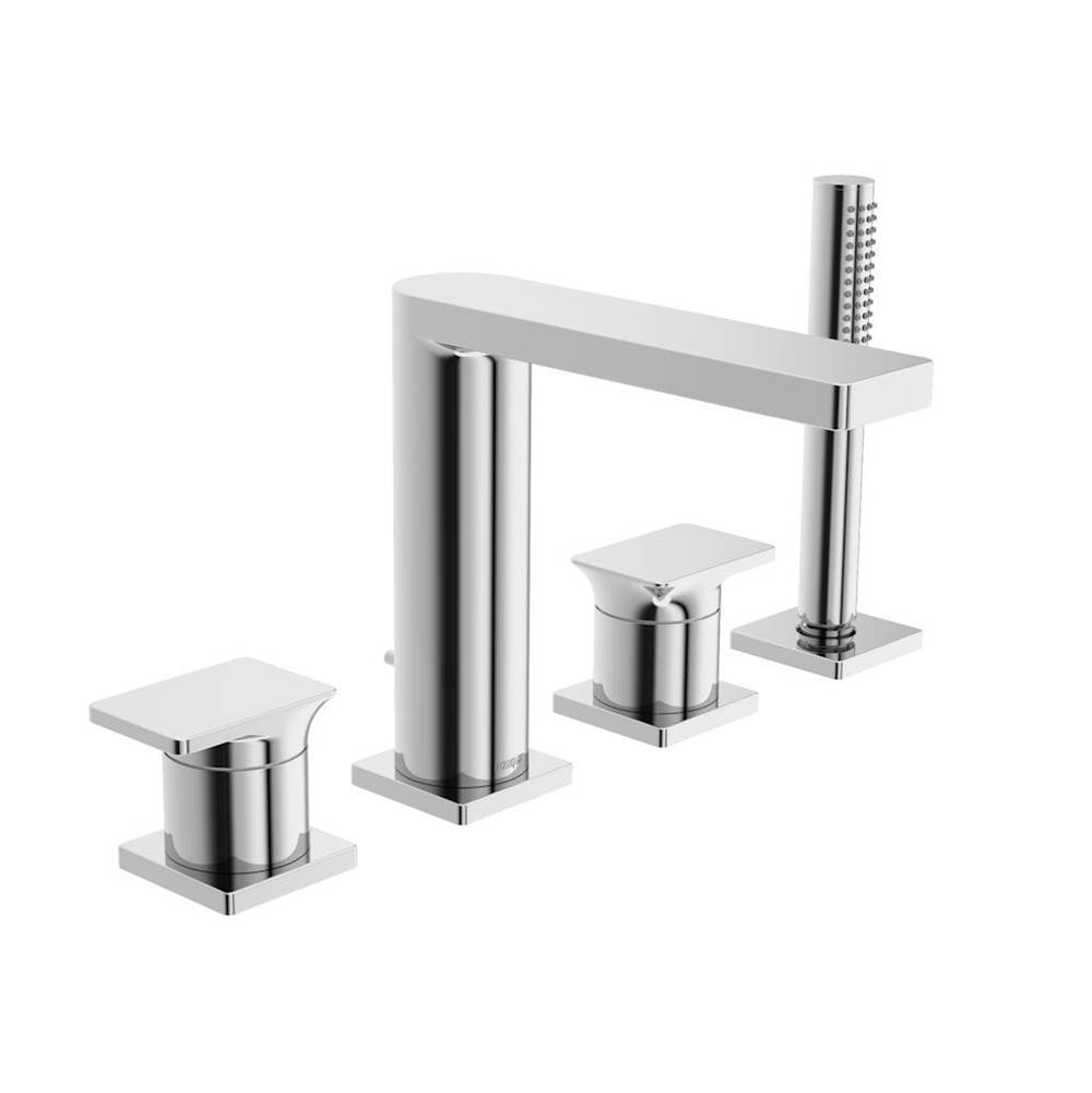 In2aqua Deck Mount Roman Tub Faucets With Hand Showers item 1201 2 00 2