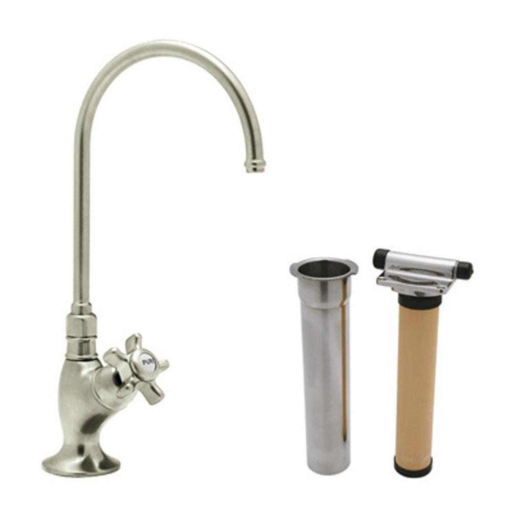 Rohl Deck Mount Kitchen Faucets item AKIT1635XMSTN-2