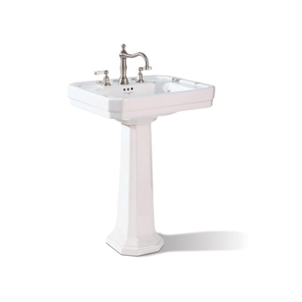 Rohl Complete Pedestal Bathroom Sinks item U.2934WH