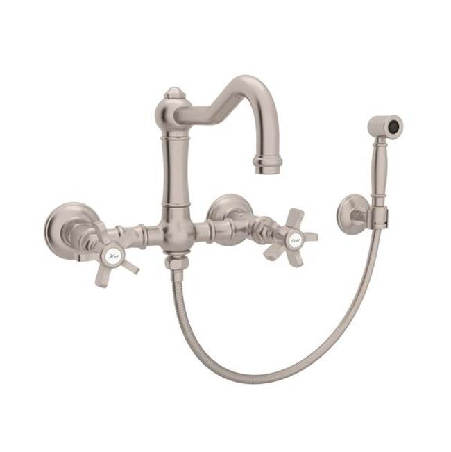 Rohl Wall Mount Kitchen Faucets item A1456XWSSTN-2