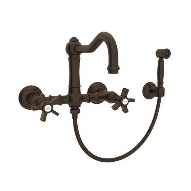 Rohl Wall Mount Kitchen Faucets item A1456XWSTCB-2