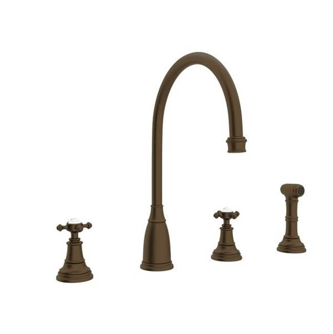 Rohl Deck Mount Kitchen Faucets item U.4735X-EB-2