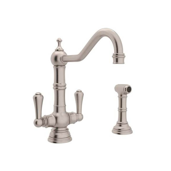 Rohl Deck Mount Kitchen Faucets item U.4766STN-2