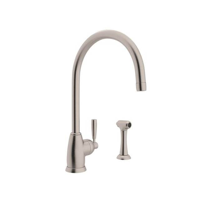 Rohl Deck Mount Kitchen Faucets item U.4846LS-STN-2