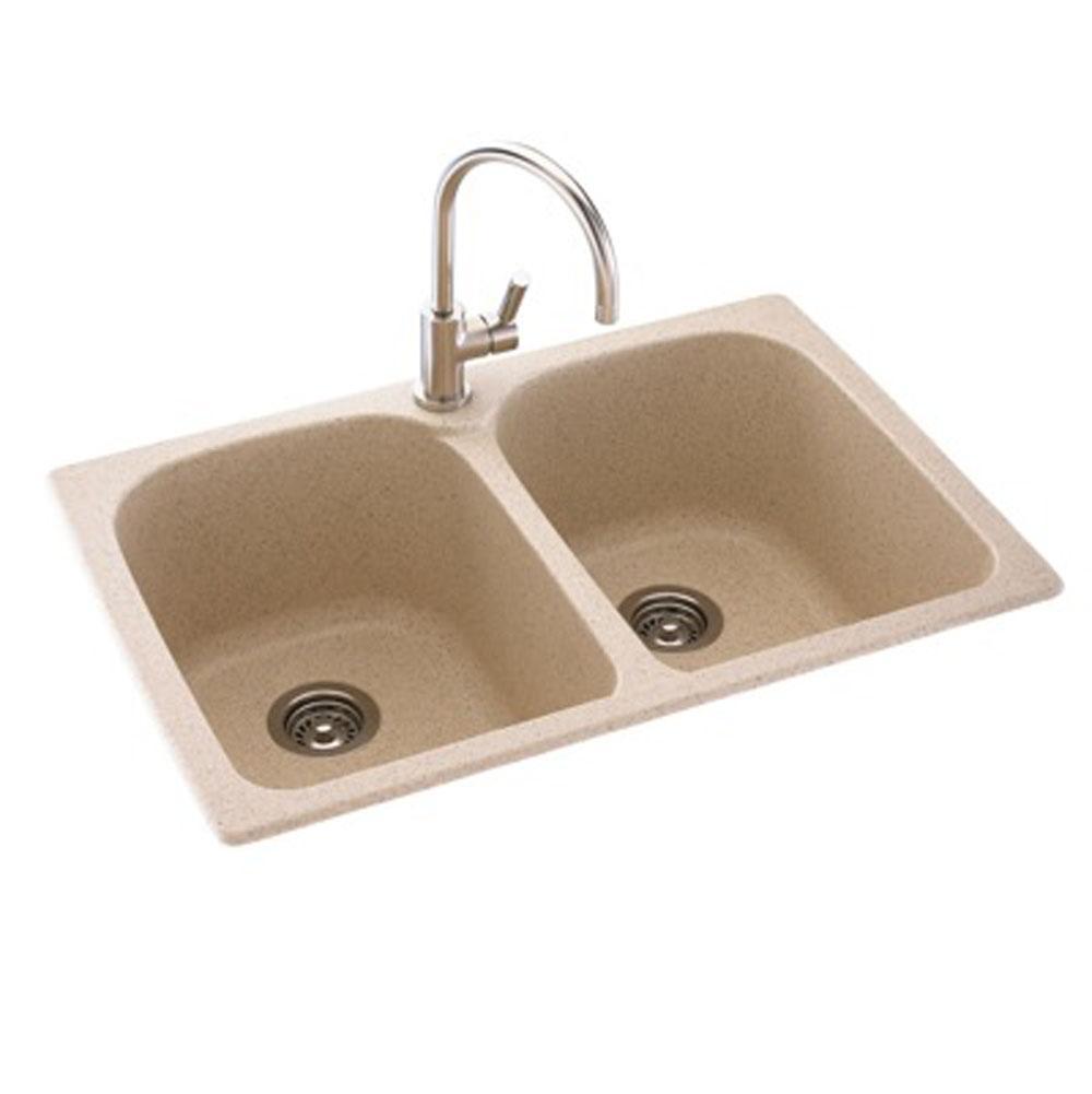 Kitchen sinks decorative plumbing distributors fremont ca swan drop in kitchen sinks item ks02233lb050 workwithnaturefo