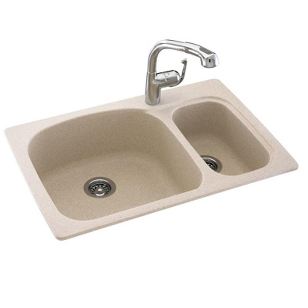 Swan Drop In Kitchen Sinks Item KS03322LS.040