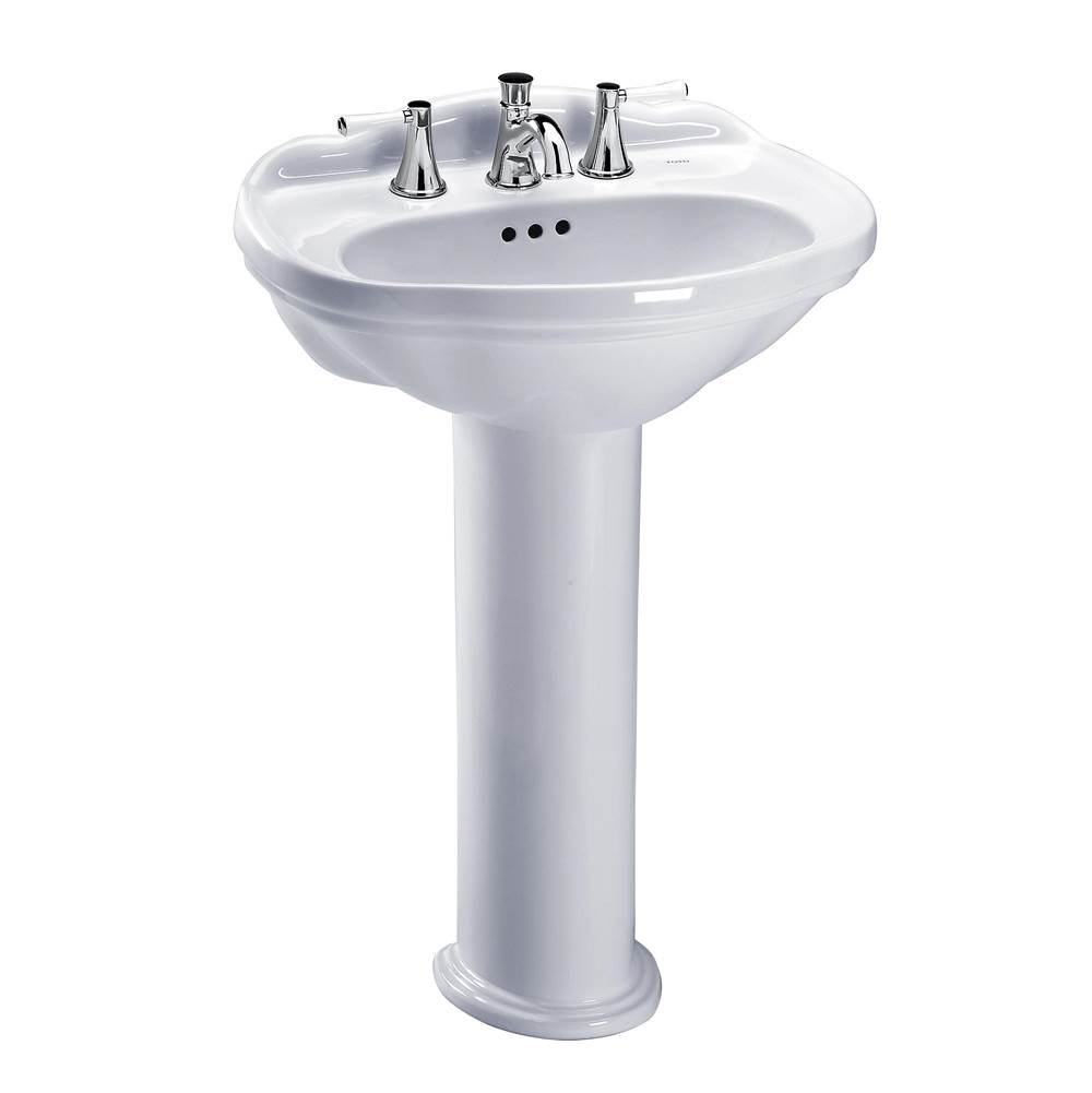 Toto Complete Pedestal Bathroom Sinks item LPT754.8#11