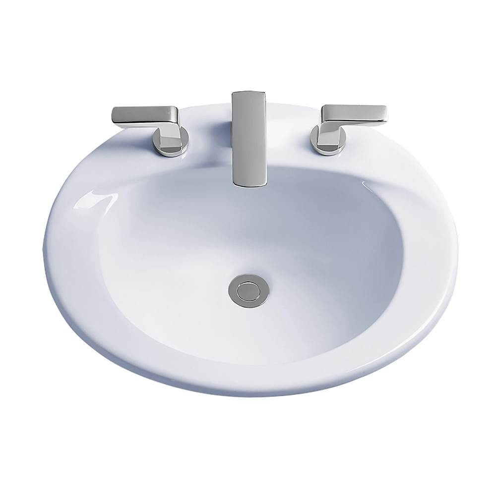 Toto Drop In Bathroom Sinks item LT511.8G#01